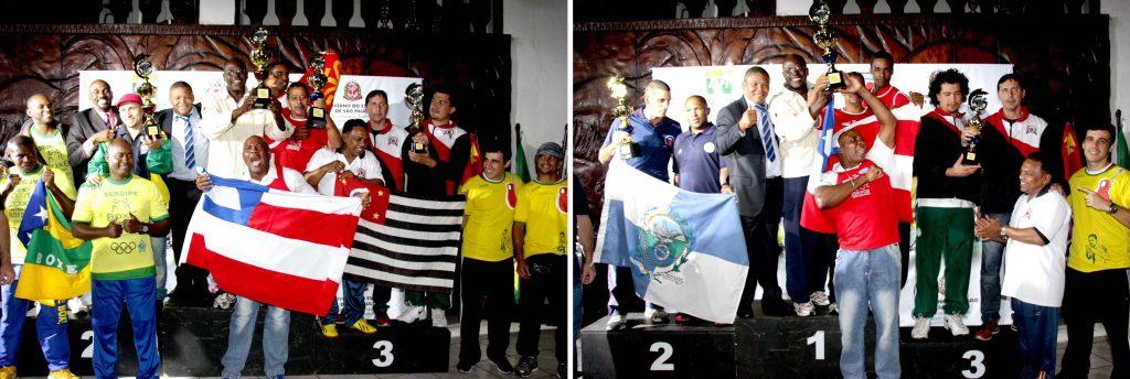 Na disputa por equipes, a Bahia vence os dois campeonatos