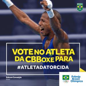 """Robson Conceição para """"Atleta da Torcida 2016""""!"""