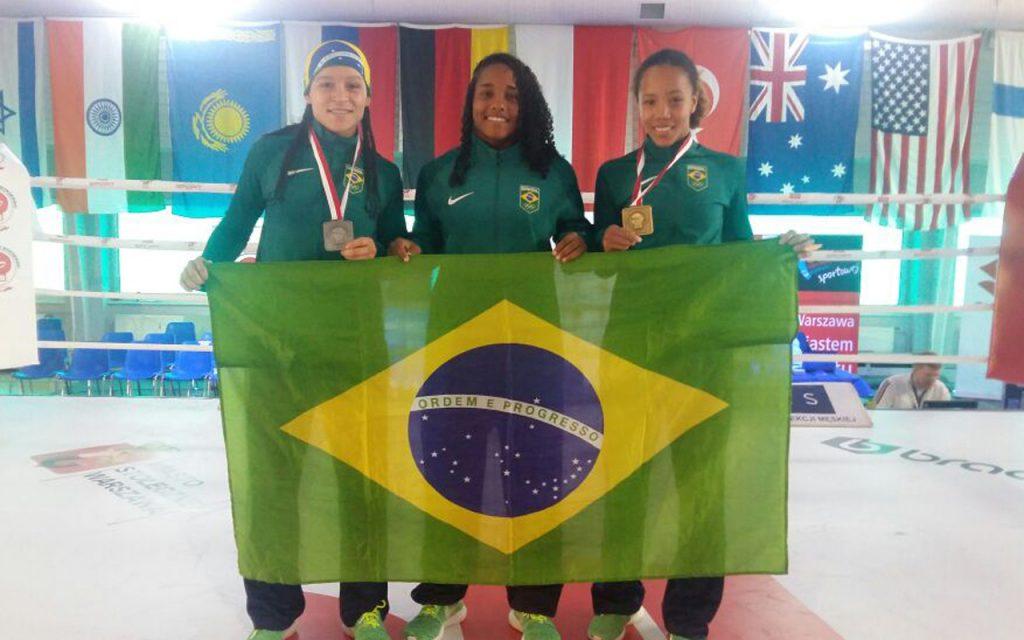 Em campanha vitoriosa, Boxe feminino conquista Ouro e uma Prata na Polônia