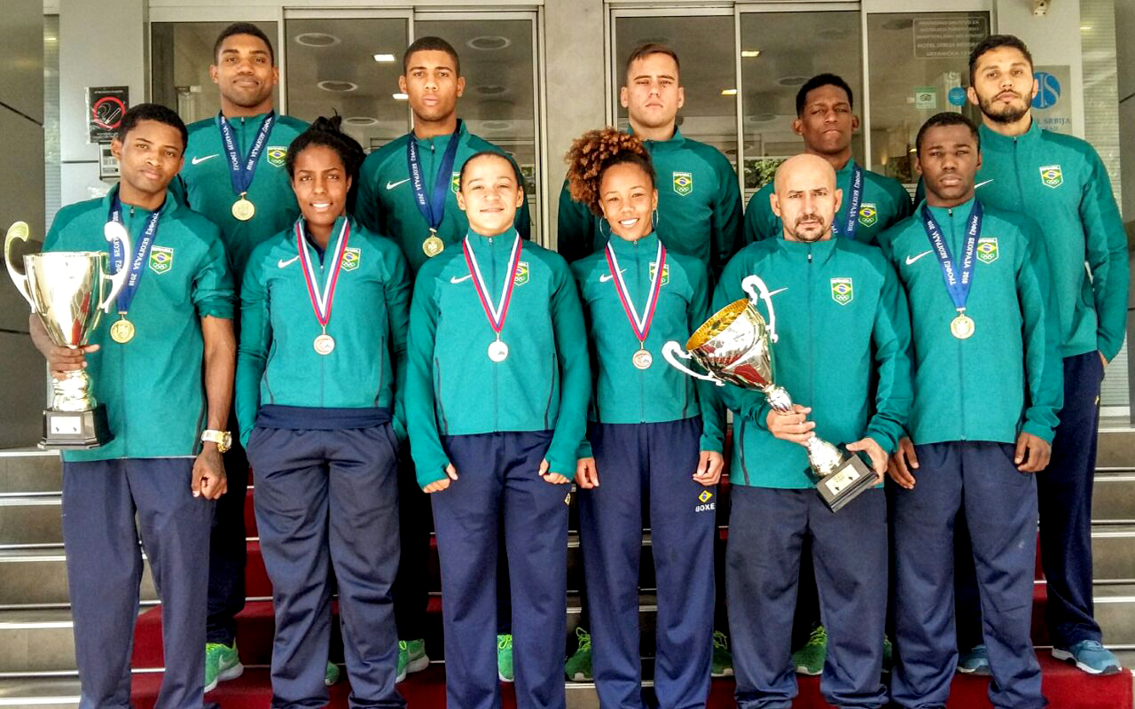 Seis Ouros no tradicional torneio Belgrado Winner, realizado na Sérvia