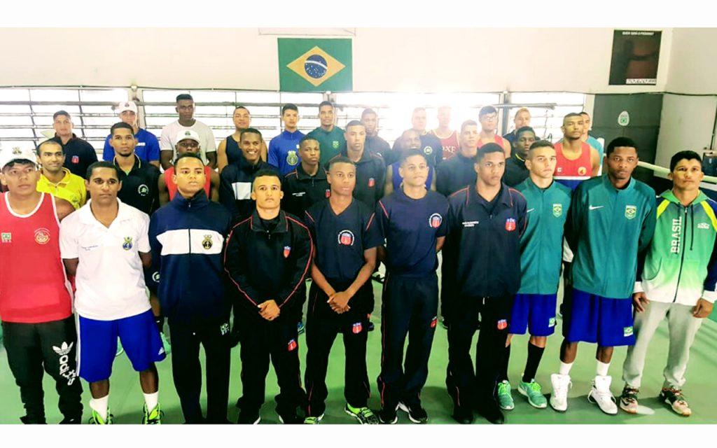 CBBoxe realiza base de treinamento com atletas das forças armadas