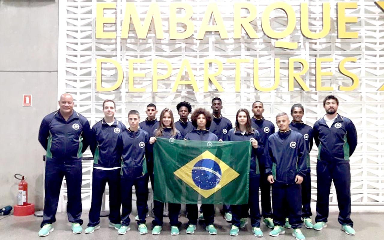 Seleção Brasileira Juvenil embarca para o Continental Juvenil