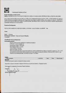 Informação sobre Pregão Eletrônico 002.2/2018