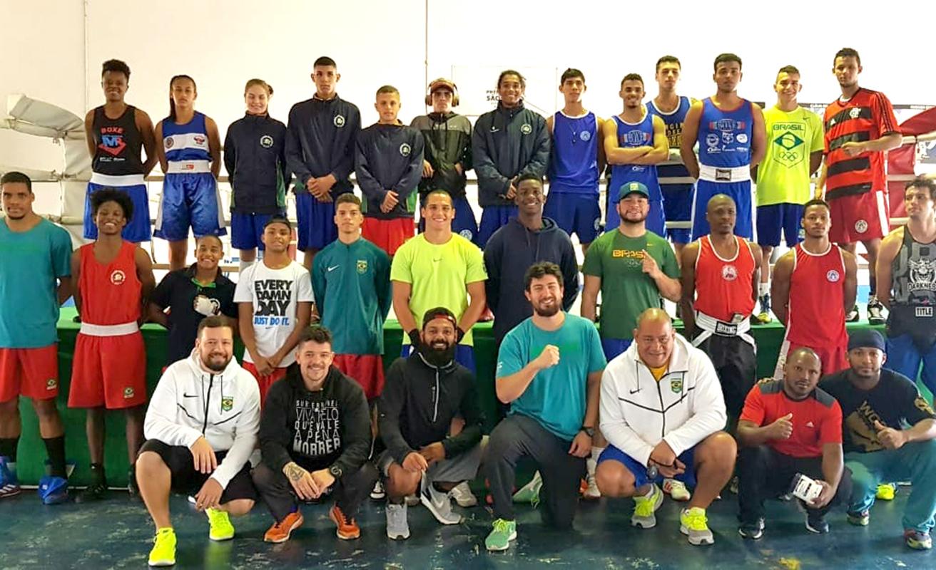 Imagem do post Atletas da Seleção Brasileira treinam forte em São Paulo