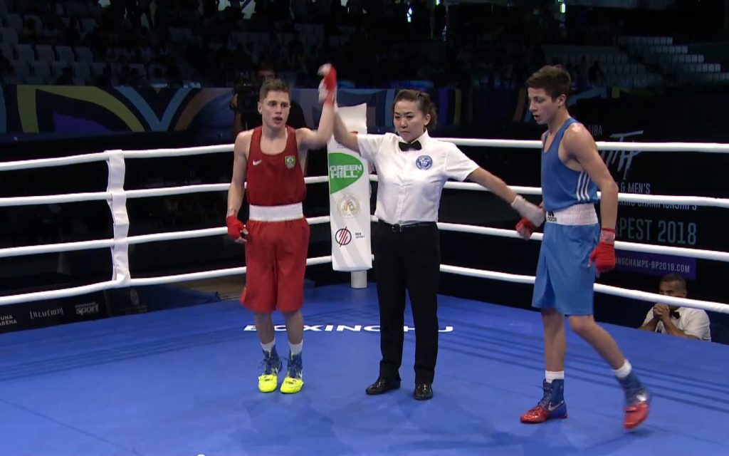 (3) AIBA Youth World Championships, Budapest 2018 – Day 3 Session 2 – Ring B – YouTube – Google Chrome