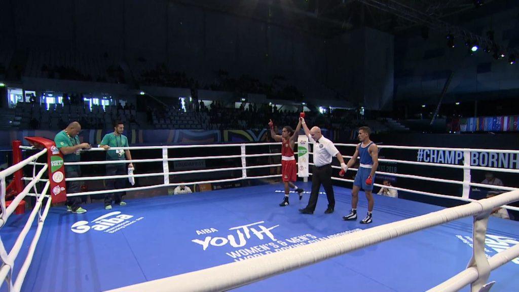 AIBA Youth World Championships, Budapest 2018 – Day 3 Session 1 – Ring B – YouTube – Google Chrome
