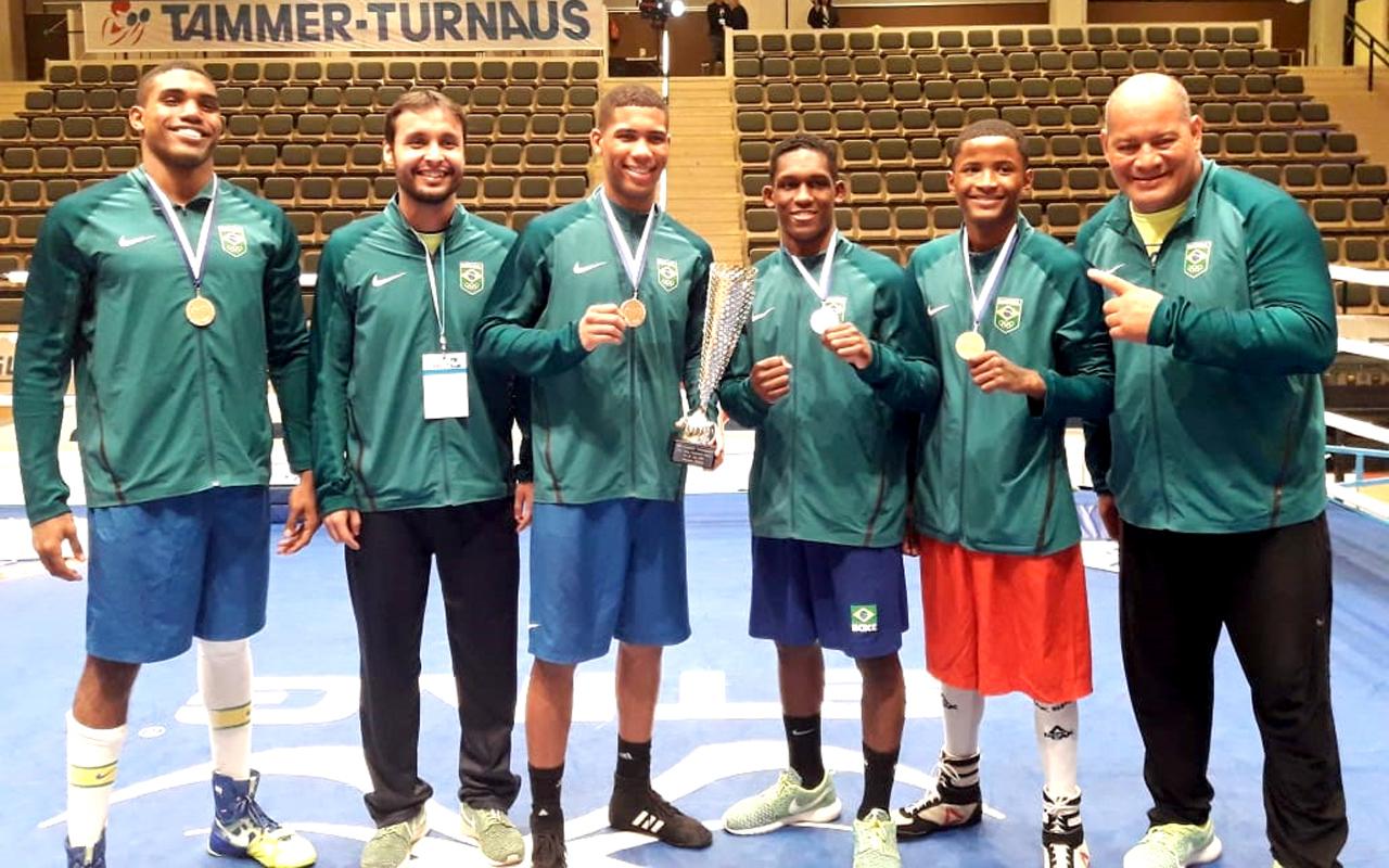 Imagem do post Quatro Ouros: Brasil é campeão por equipes na Europa