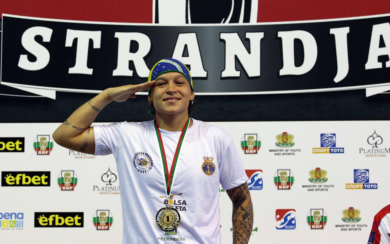 Imagem do post Beatriz Ferreira conquista Ouro inédito no Strandja Tournament
