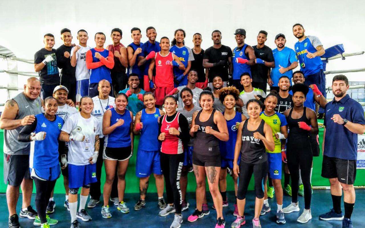 Imagem do post Boxe do Brasil treina forte com seleção da Guatemala