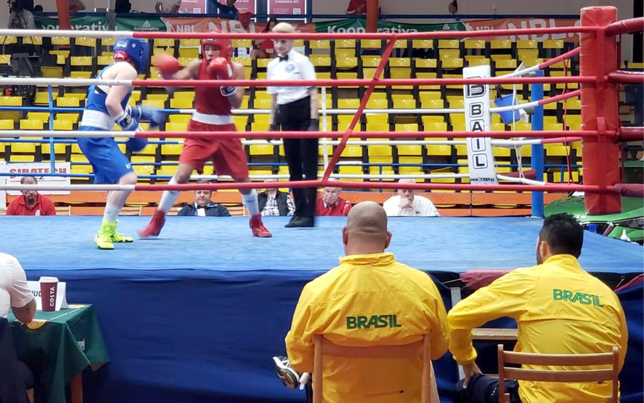 Imagem do post Em maratona com 11 lutas, Boxe do Brasil vence 10 na República Tcheca