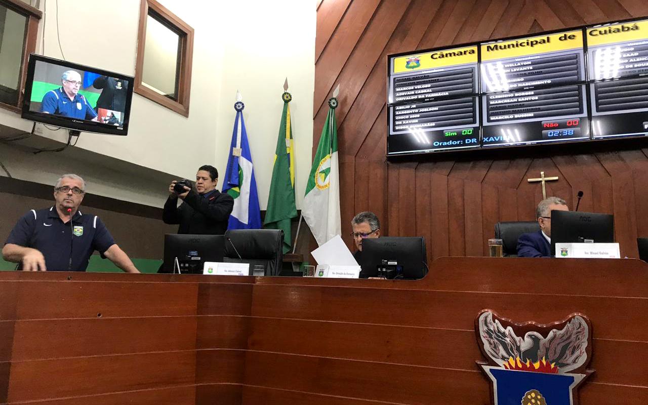 Imagem do post Diretoria da CBBoxe é homenageada na Câmara Municipal de Cuiabá