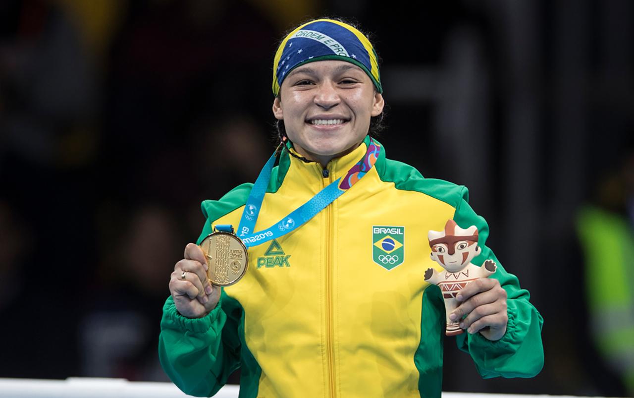 Imagem do post Beatriz Ferreira conquista o primeiro Ouro do Boxe Feminino do Brasil em jogos Pan-Americanos