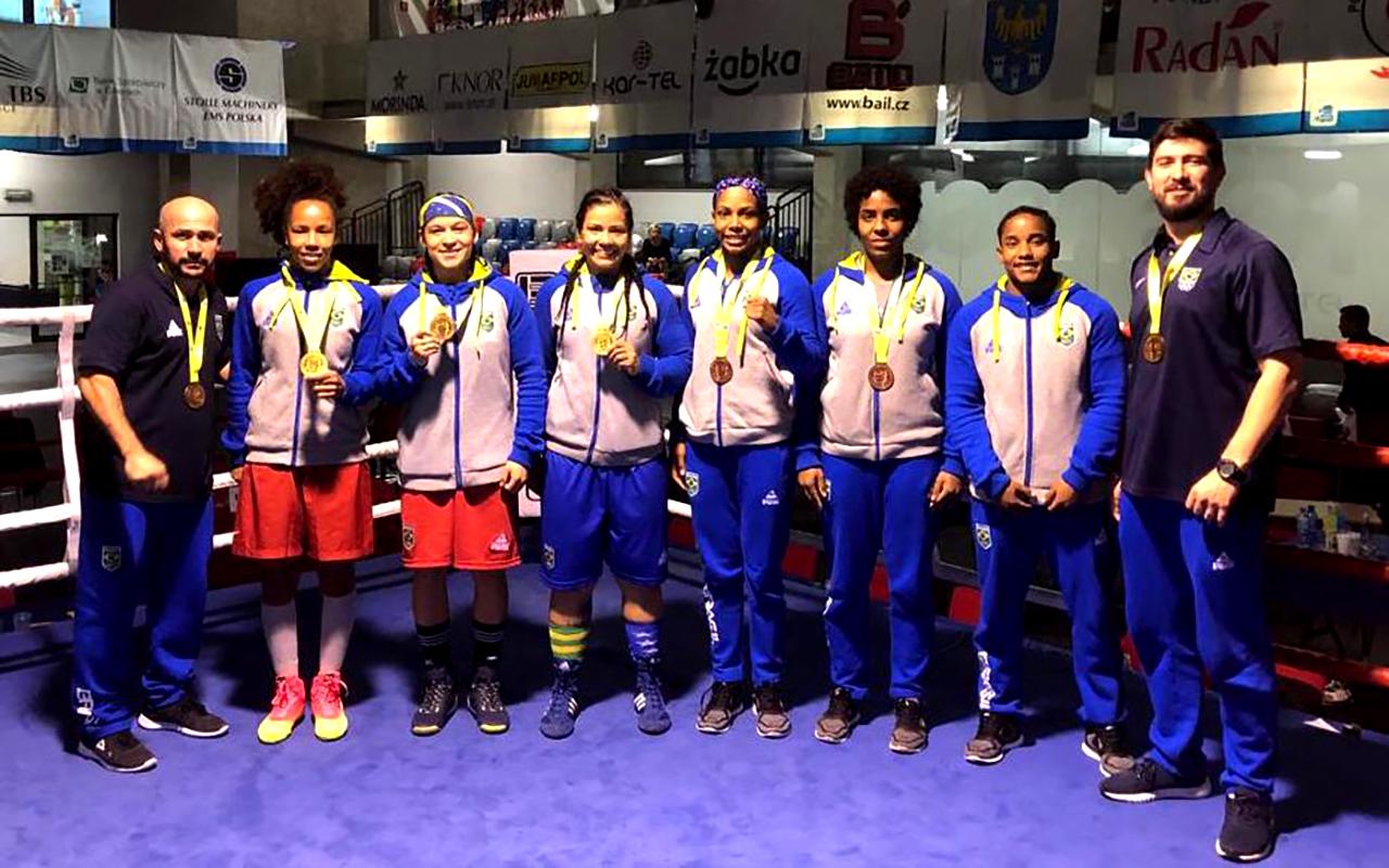 Imagem do post Três Ouros e dois Bronzes para o Boxe Feminino na Polônia
