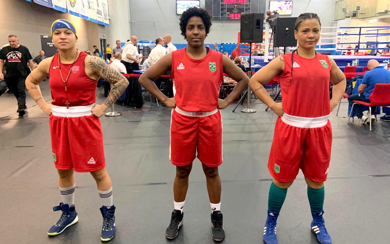 Imagem do post Boxe feminino em três finais no IV International Silesian Women's Boxing Championships