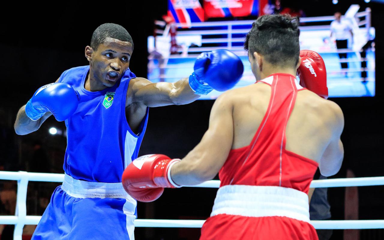Imagem do post Mais duas vitórias para a conta no  Mundial de Boxe masculino
