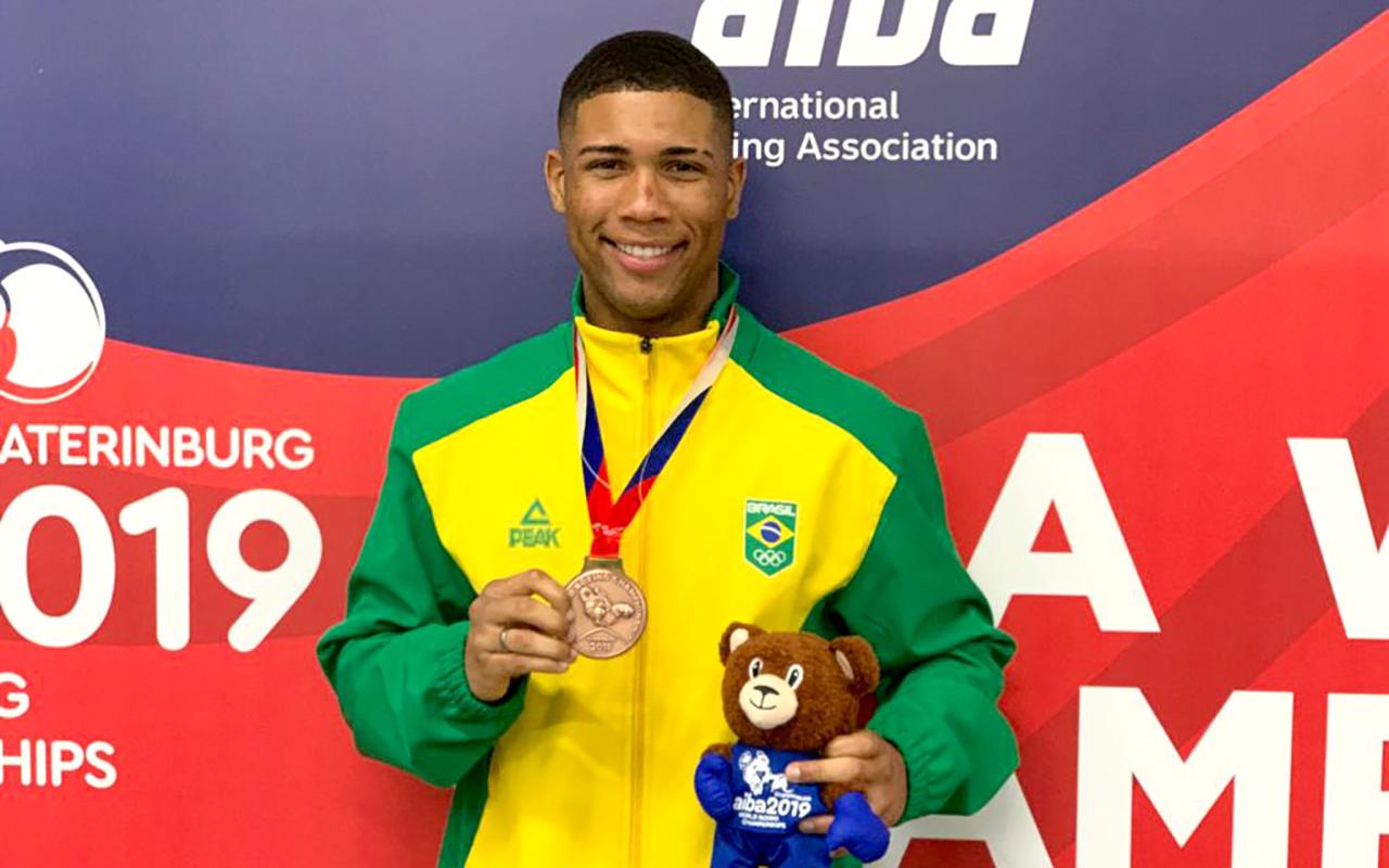 Imagem do post Hebert Conceição conquista o Bronze no Mundial de Boxe