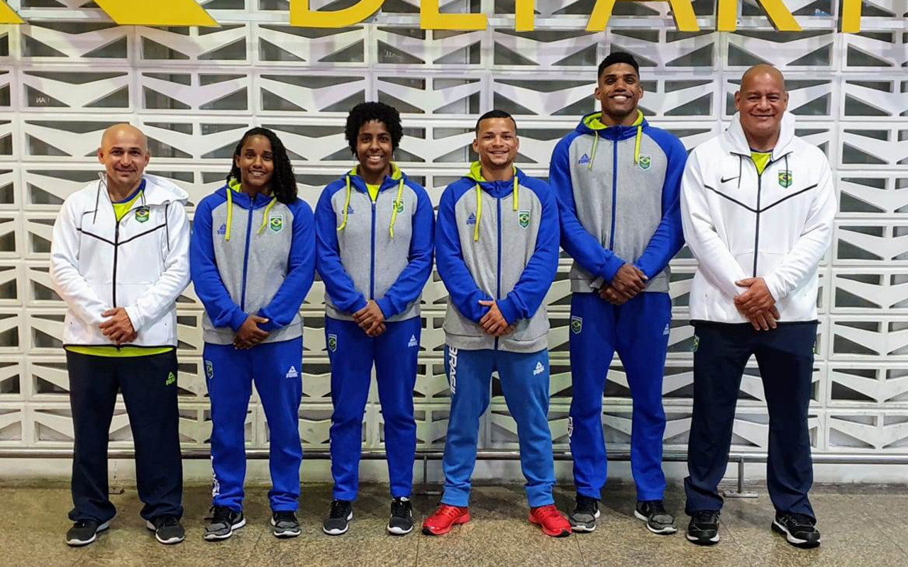 Imagem do post Boxe do Brasil embarca rumo ao evento teste para Tóquio 2020