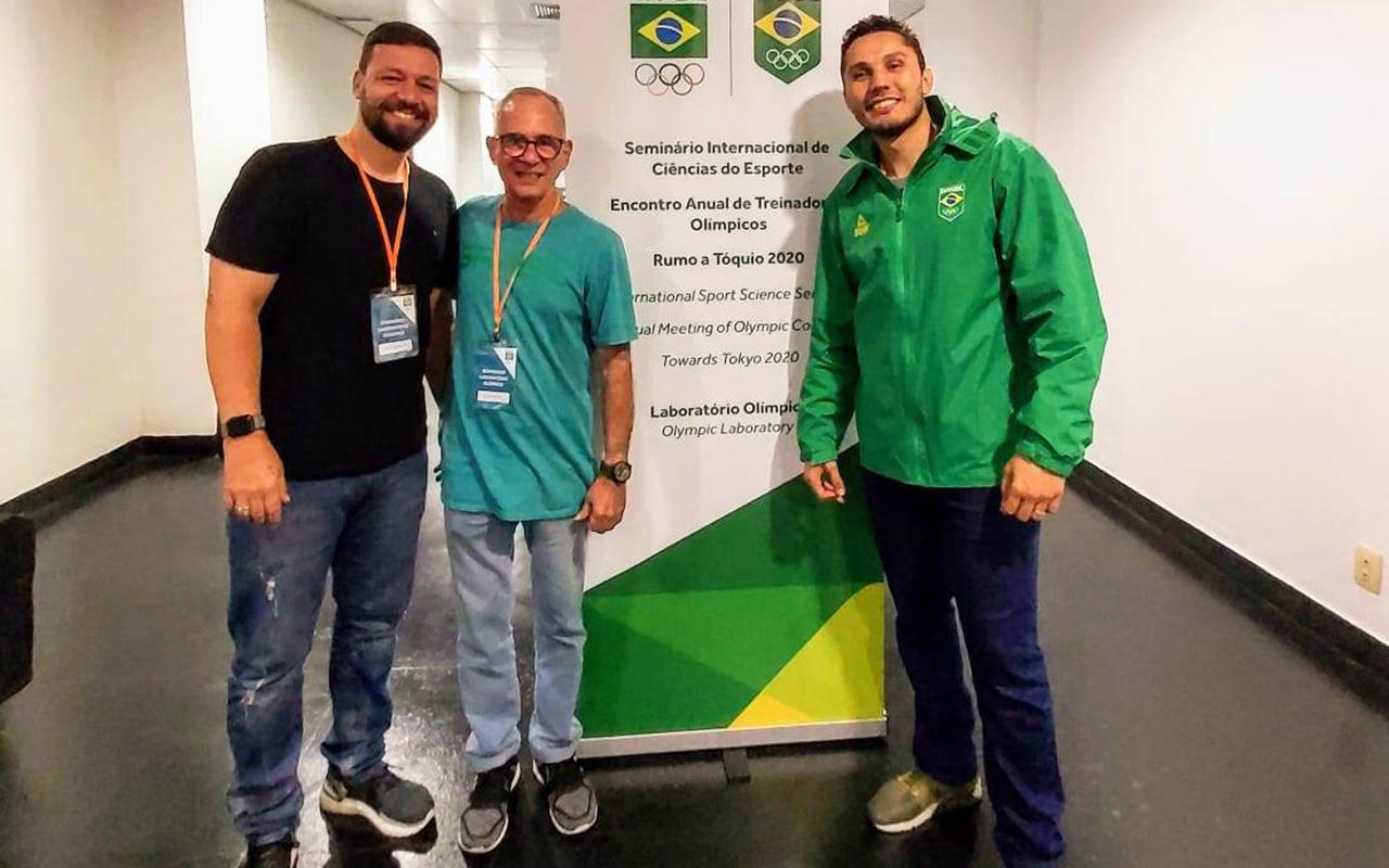 Imagem do post CBBoxe marca presença no Encontro Anual de Treinadores Olímpicos Rumo a Tóquio 2020