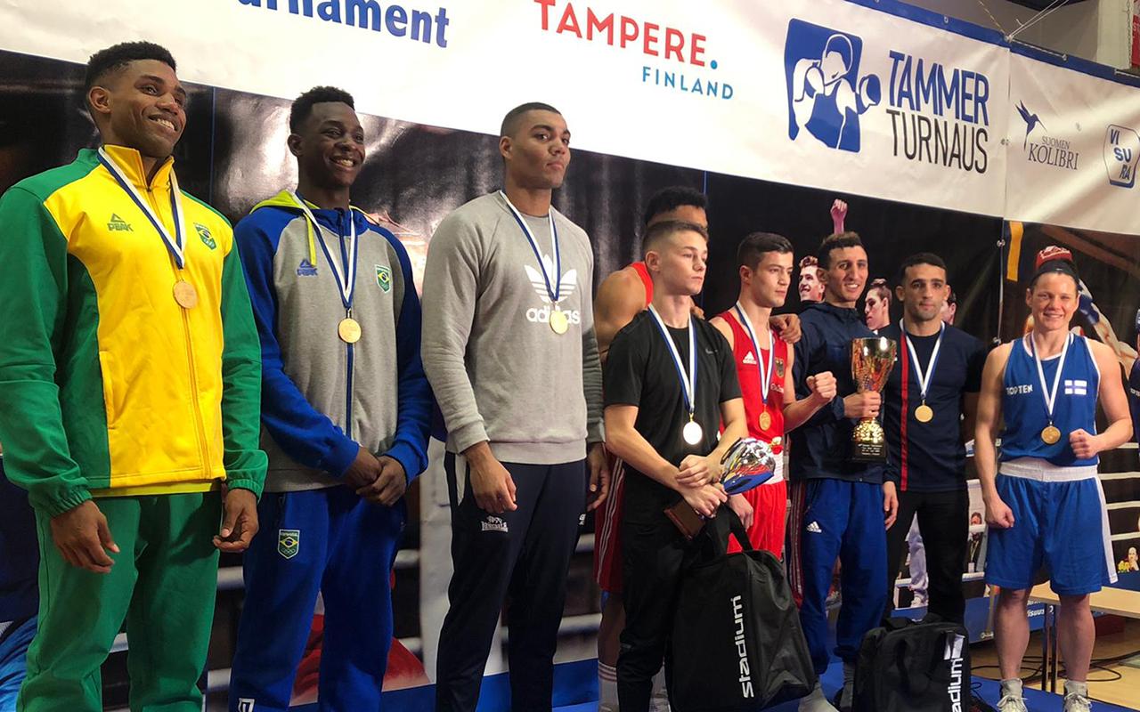 Imagem do post Com dois Ouros, Brasil encerra Tammer Tournament com excelente campanha