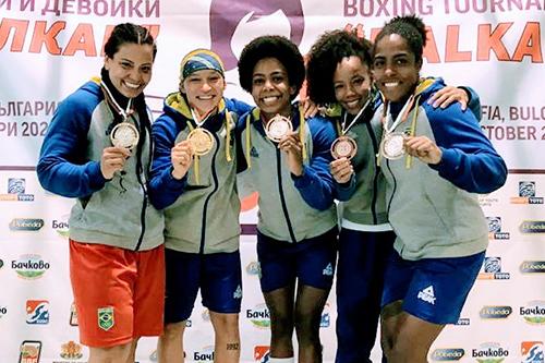 Imagem do post Boxe  feminino vence na Europa e sobe no pódio novamente