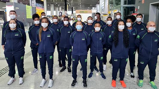 Imagem do post Equipe Olímpica embarca para enfrentar os melhores do mundo na Europa