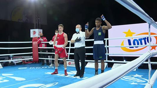 Imagem do post Ezequiel Cruz vence em sua estreia no Campeonato Mundial Juvenil